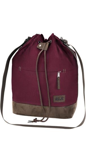 Jack Wolfskin Sandia Shoulder Bag garnet red